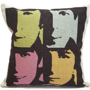Almofada Beatles Pop Art 45x45
