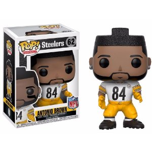 Boneco Funko Pop NFL Antonio Brown Wave 4