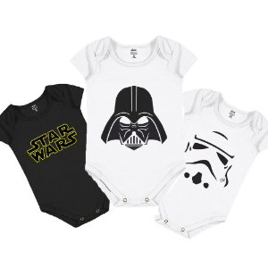 Kit Body Infantil Star Wars