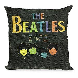 Almofada The Beatles Color 45x45