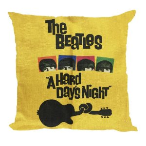 Almofada Beatles A Hard Day's Night 45x45
