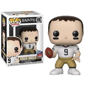 Boneco Funko Pop NFL Drew Brees Wave 5