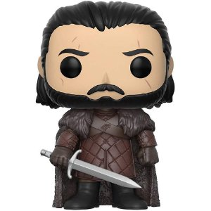 Boneco Funko Pop Game of Thrones - Jon Snow com Case Protetora