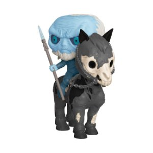 Boneco Funko Pop Game of Thrones - Vagante Branco no Cavalo