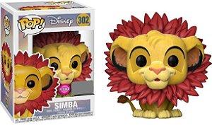 Boneco Funko Pop! Disney: O Rei Leão - SIMBA Juba de folhas