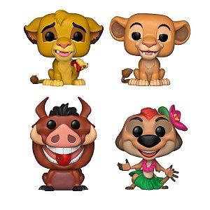 Boneco Funko Pop! Disney: O Rei Leão - Conjunto