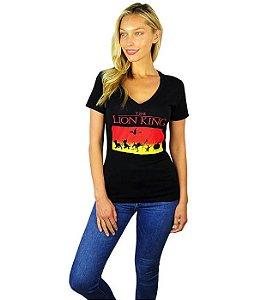 Camiseta Feminina Disney O Rei Leão