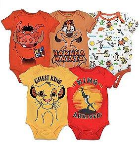 Body Infantil Disney O Rei Leão