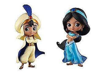 Banpresto Disney Príncipe Aladdin e Princesa Jasmine