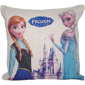 Almofada Frozen Elsa e Anna 45x45