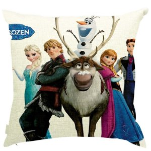 Almofada Frozen Cast 45x45