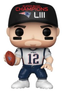Boneco Funko Pop NFL Tom Brady Wave 6