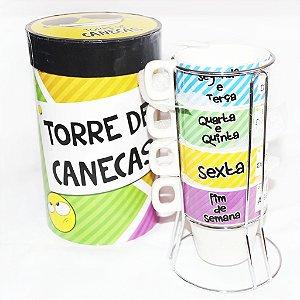 Torre de Canecas Kit com 4