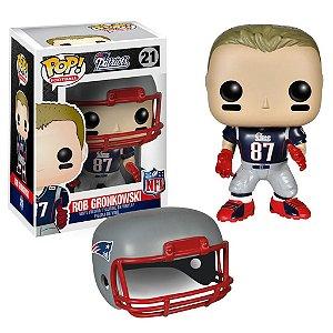 Boneco Funko Pop NFL Rob Gronkowski