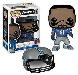 Boneco Funko Pop NFL Calvin Johnson