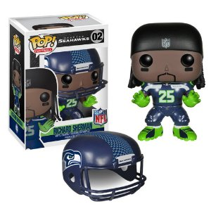Boneco Funko Pop NFL Richard Sherman