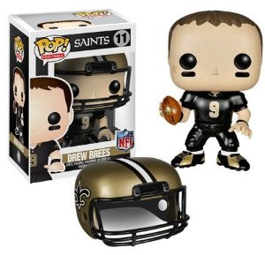 Boneco Funko Pop NFL Drew Brees