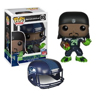 Boneco Funko Pop NFL Marshawn Lynch