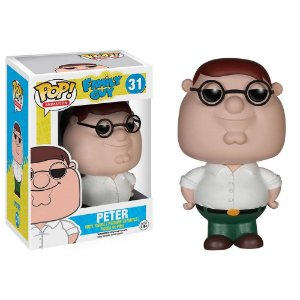 Boneco Funko Pop Family Guy Peter