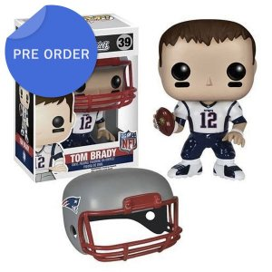 Boneco Funko Pop NFL Tom Brady Wave 2