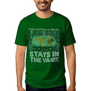 Camiseta Masculina Scooby Doo Verde