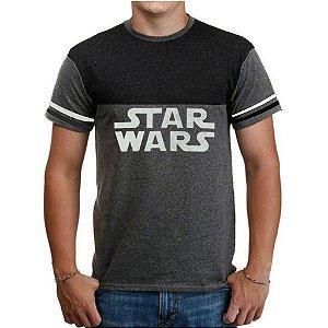Camiseta Masculina Star Wars Logo