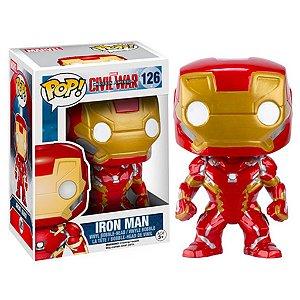 Boneco Funko Pop Marvel Civil War Homem de Ferro