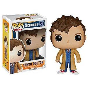 Boneco Funko Pop Doctor Who Décimo Doutor