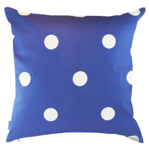 Almofada Poá Azul 45x45