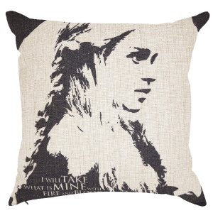 Capa Almofada Game Of Thrones Daenerys Targaryen 45x45