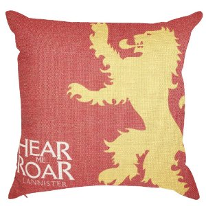 Capa Almofada Game Of Thrones Lannister 45x45