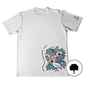 Camiseta Diferentes Espécies, O Mesmo Coração