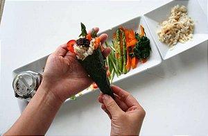 Cozinheiro profissional oriental - Sushiman & cozinha tradicional chinesa e japonesa