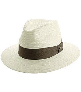 Chapéu tipo Panamá com filtro UV