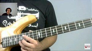 Vídeo Aula de Contrabaixo Caminhos da Improvisação Campo Harmônico Menor Harmônico