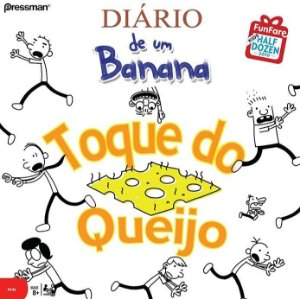 Diário de Um Banana - Toque de Queijo (jogo de tabuleiro)