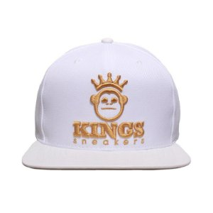 Boné Kings Snapback Branco