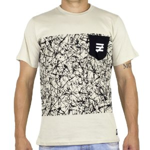 Camiseta Chronic Painting Bege