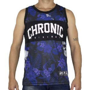 Regata Chronic Basket Floral Roxa