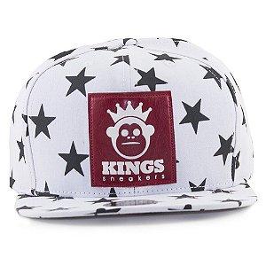 Boné Kings Stars Branco