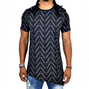 Camiseta Kings Oversized Asymetric Forms