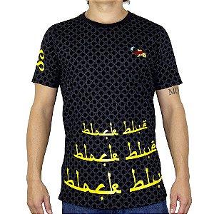 Camiseta Black Blue Arabian Preta