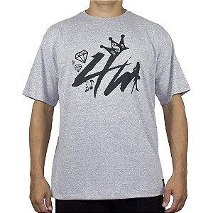 Camiseta 4M Cinza