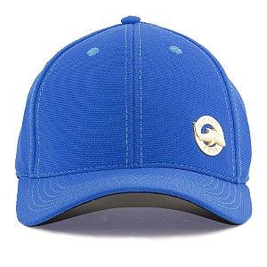 Boné Black Blue Snapback Brasão Azul