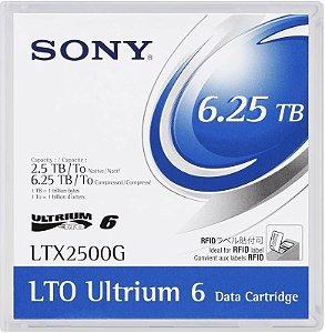 Fita LTO-6 Ultrium SONY 6.25TB