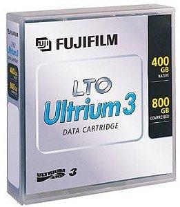 Fita LTO 3 Ultrium Fujifilm 800GB