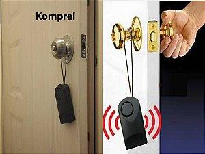 Alarme para maçaneta de porta