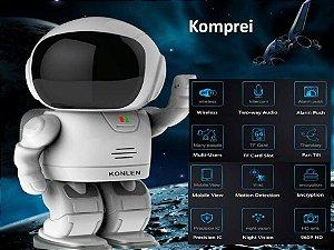 ROBÔ ESPIÃO Hd C/ Câmera Escondida Sem Fio Robô Wi-fi - Produto Exclusivo