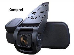 Dvr Filmadora E Câmera Veicular 2 Lentes - Exclusivo