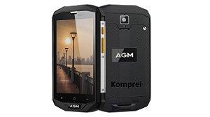 Smartphone Agm 4gb + 64gb Tela 5 Hd Ip68 Bateria 4050mah 4g